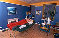 Therapy room at Harvest Moon