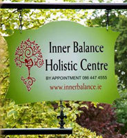 Inner Balance Holistic Centre  street sign