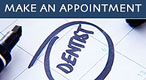 Calendar for making dentist appointment at Grafton Dental Surgey