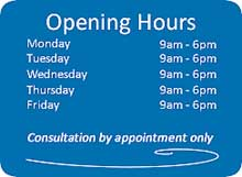 Details of Grafton Street dentist opening hours