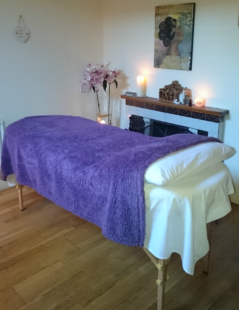 Reiki therapy room in Smithfield / Stoneybatter
