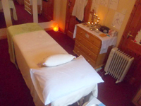Galway Reiki therapy room